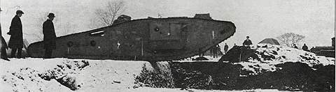 Тяжелый танк Mk IV