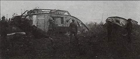 Тяжелый танк Mk V
