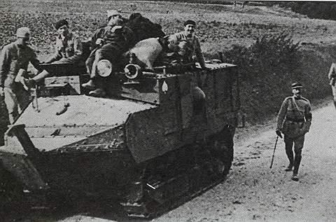 Штурмовая машина «Шар-Шнейдер»