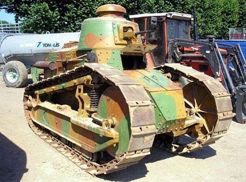 Танк «Рено» FT 17