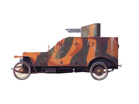 Бронеавтомобиль «Пежо»