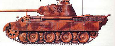 Средний танк T-V «Пантера»