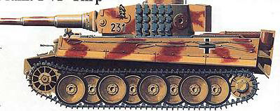 Тяжелый танк T-VI «Тигр»