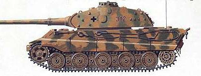 Тяжелый танк T-VI «Тигр II»
