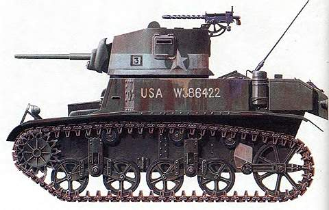 Легкий танк М3
