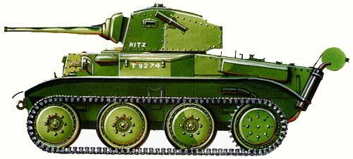 Легкий танк Mk VII «Тетрарк»
