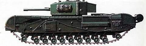 Тяжелый танк Mk IV «Черчилль»