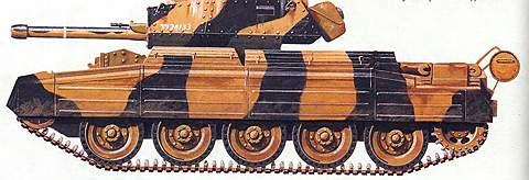Крейсерский танк Mk VI «Крусейдер»