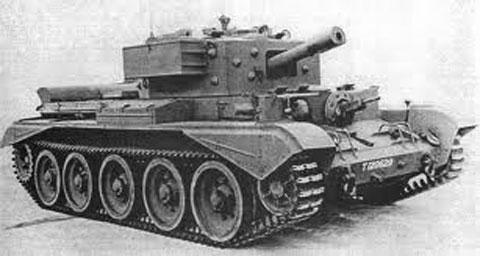 Крейсерский танк Mk VIII «Кентавр»