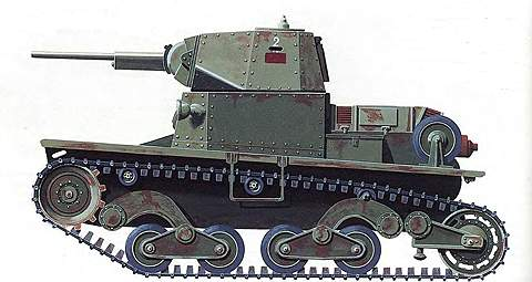 Легкий танк «Фиат» L.6/40