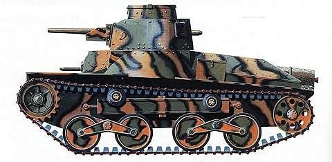 Легкий танк «тип 95»