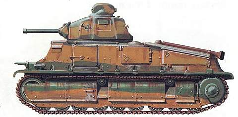 Средний танк SOMUA S-35