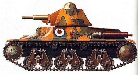 Легкие танки «Гочкис»