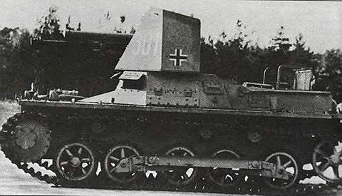 Истребитель танков «Панцерягер-I»