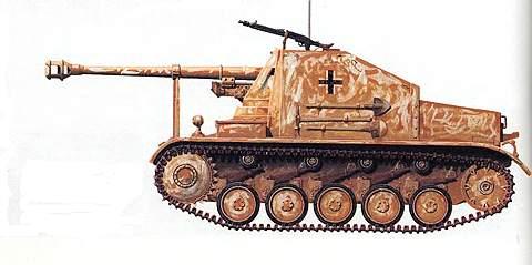Истребитель танков «Мардер-II»