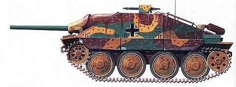 Легкий истребитель танков «Хетцер»