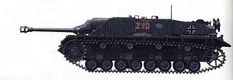 Истребитель танков «Ягдпанцер-IV»