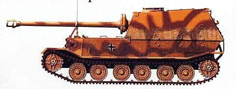 Истребитель танков «Элефант»