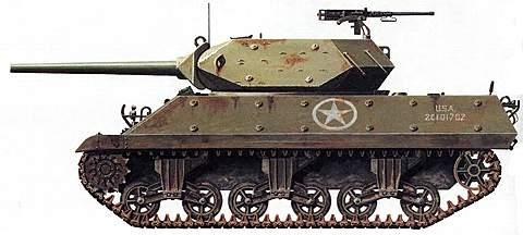 Самоходная артиллерийская установка M 10