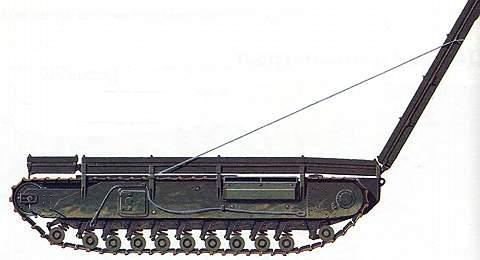 Танковый мостоукладчик ARK