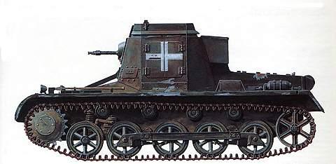 Машина боевого управления SdKfz 265