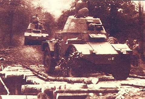 Французский бронеавтомобиль «Панар-178»