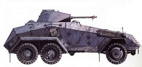 Тяжелый бронеавтомобиль SdKfz 231