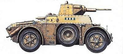 Бронеавтомобили «Автоблинда-40 и 41»