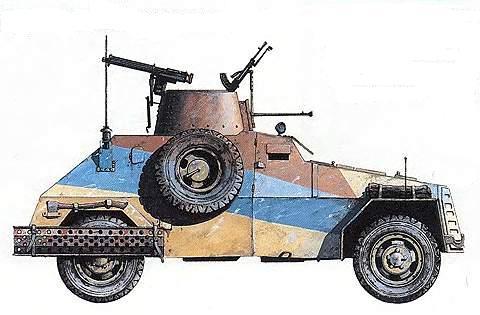 Бронеавтомобили «Мармон Херрингтон»