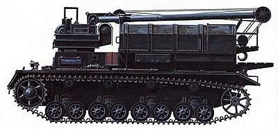 Транспортер боеприпасов «Карл» T-IV Ausf F