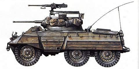Легкий бронеавтомобиль М8