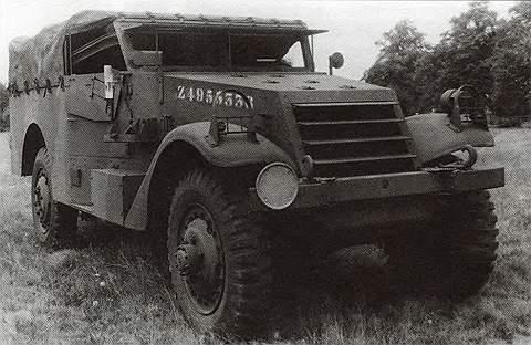 Легкий бронеавтомобиль М3 «Уайт»