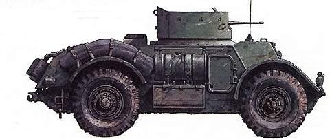 Легкий бронеавтомобиль Т17Е1 «Стэгхаунд»