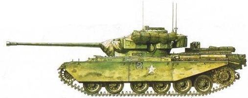 Основной боевой танк «Центурион»