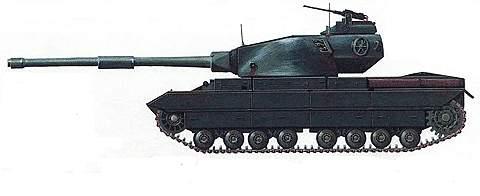 Тяжелый танк «Конкурор»