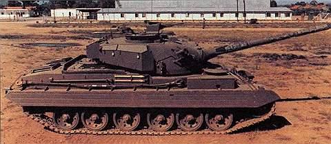 Основной боевой танк «Виккерс»