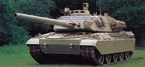 Основной боевой танк АМХ-32
