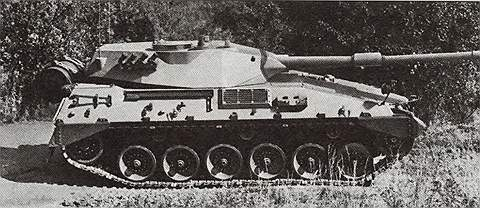 Средний танк ТАМ