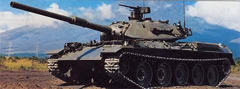 Основной боевой танк «тип 74»