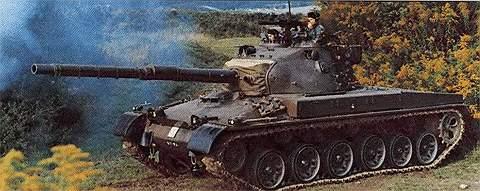 Основные боевые танки Pz 61 и Pz 68