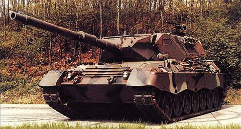 Основной боевой танк «Леопард-1»