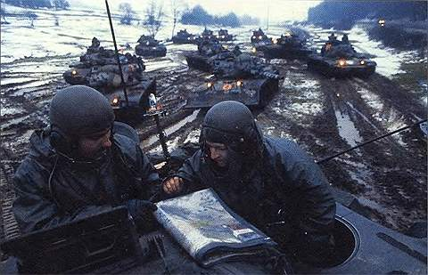 Основные боевые танки М60, М60А1 и М60А2