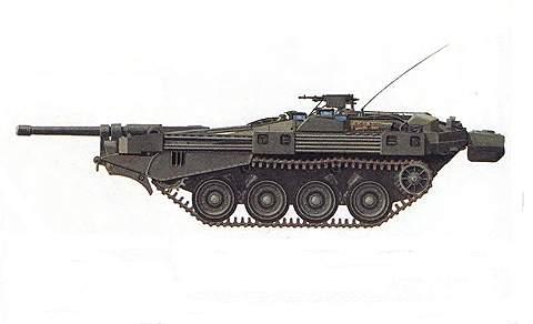 Основной боевой танк Strv 103