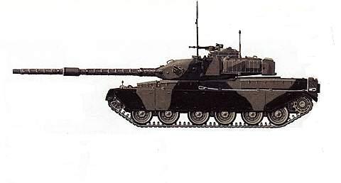 Основной боевой танк «Чифтен»