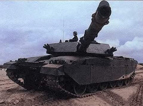 Основной боевой танк «Челленджер-1»