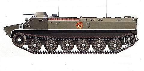 Многоцелевая гусеничная машина МТ-ЛБ