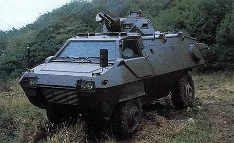 БТР ТМ 170