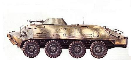 Бронетранспортеры семейства БТР-60П