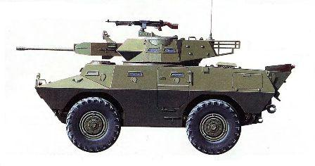 БТР «Коммандо»V-300