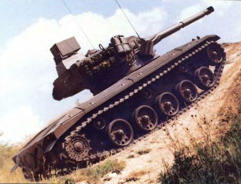 Легкий танк «Штайер» SK 105